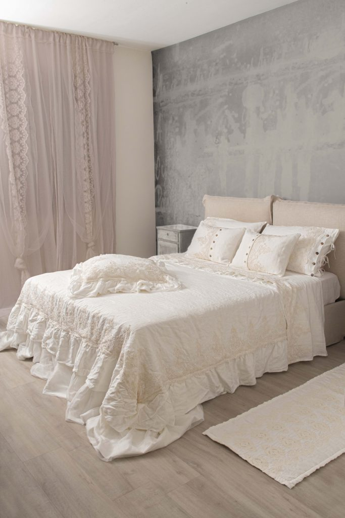 Pillowcase, linen, Elegante lace